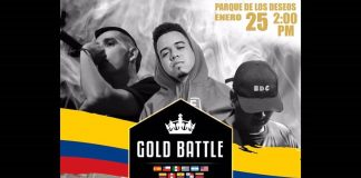 Final Nacional Gold Battle Colombia 2019