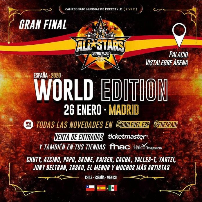 God Level All Stars Madrid 2020